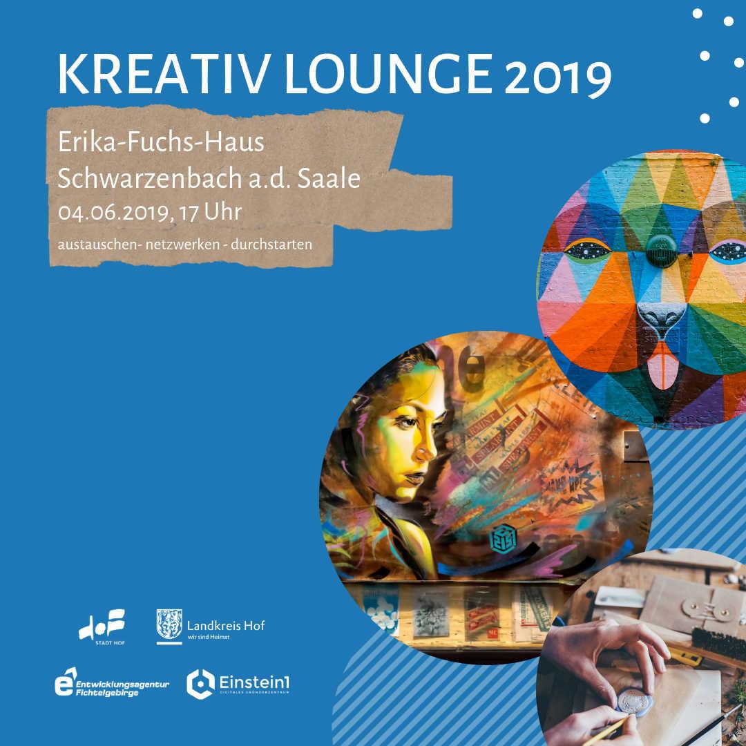 Teaser Kreativ Lounge 2019