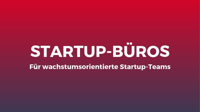 Startup Büros Teaser Website