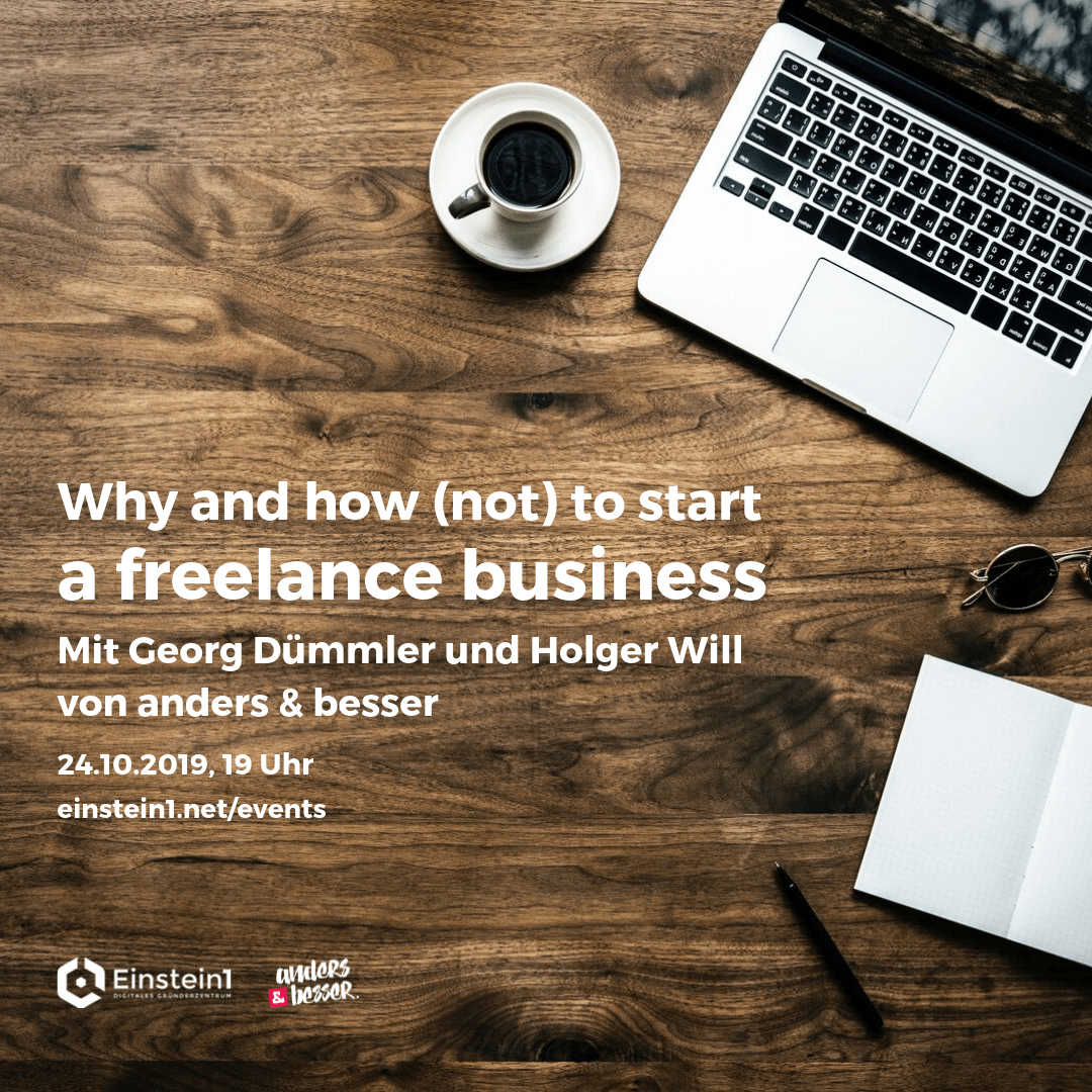 Teaser Why and how (not) to start a freelance business