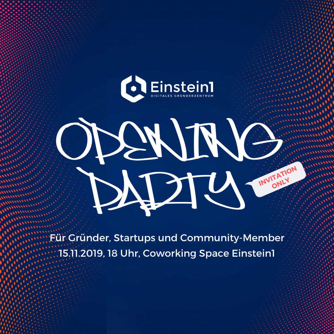 Teaser Einstein1 Opening Party