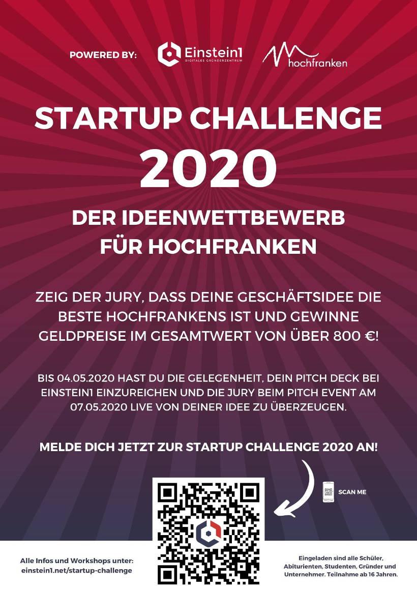 Poster Startup Challenge 2020