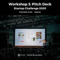 GoToWebinar Visual Workshop Pitch Deck Startup Challenge 2020