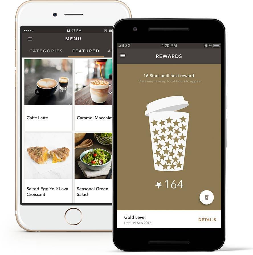 Starbucks Reward App Gamification Beispiel