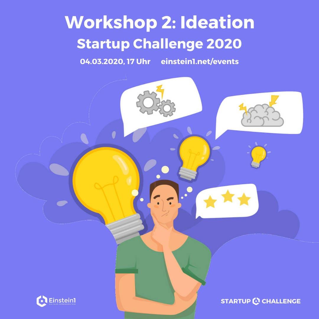 Workshop Ideation Startup Challenge 2020