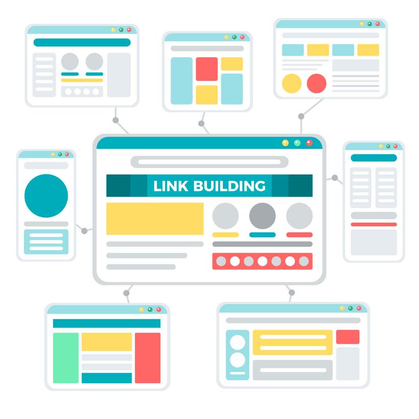 Linkbuilding Grafik