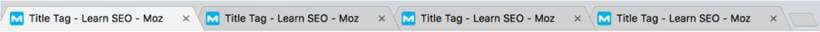 Title-Tag Beispiel bei moz.com