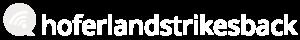 hoferlandstrikesback Logo white