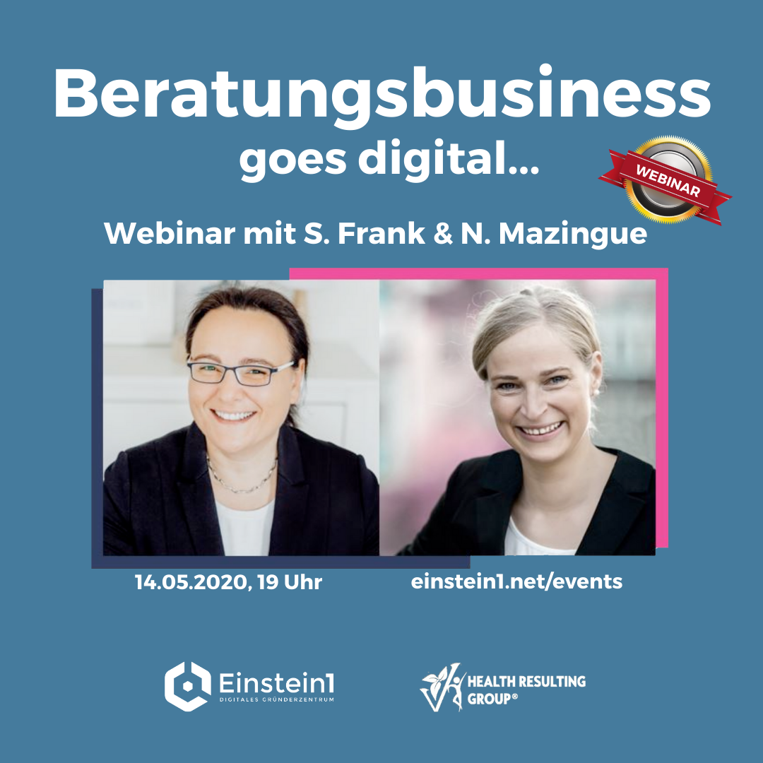 Webinar: Beratungsbusiness goes digital…