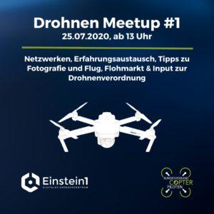 Drohnen Meetup #1 @ Einstein1