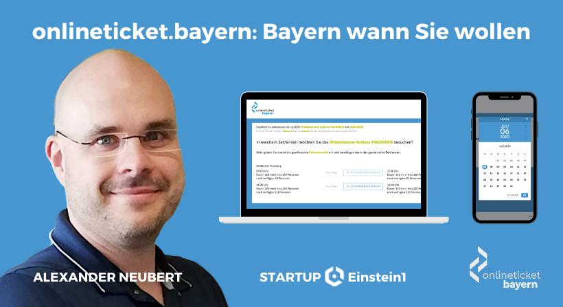 Startup Portät onlineticket einstein1