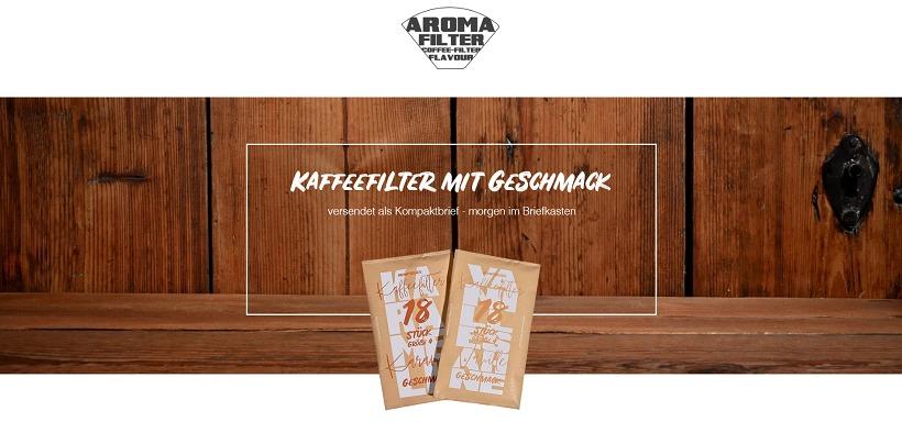 Aromafilter-Webseite Startup einstein1