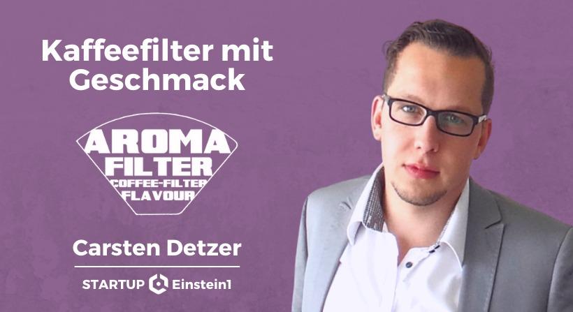 Carsten Detzer - Aromafilter @ Einstein1