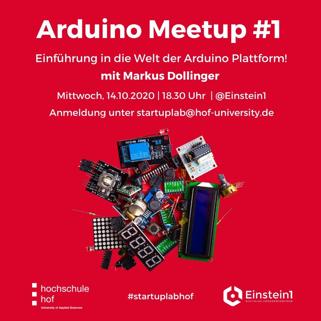 Arduino Meetup im Einstein1