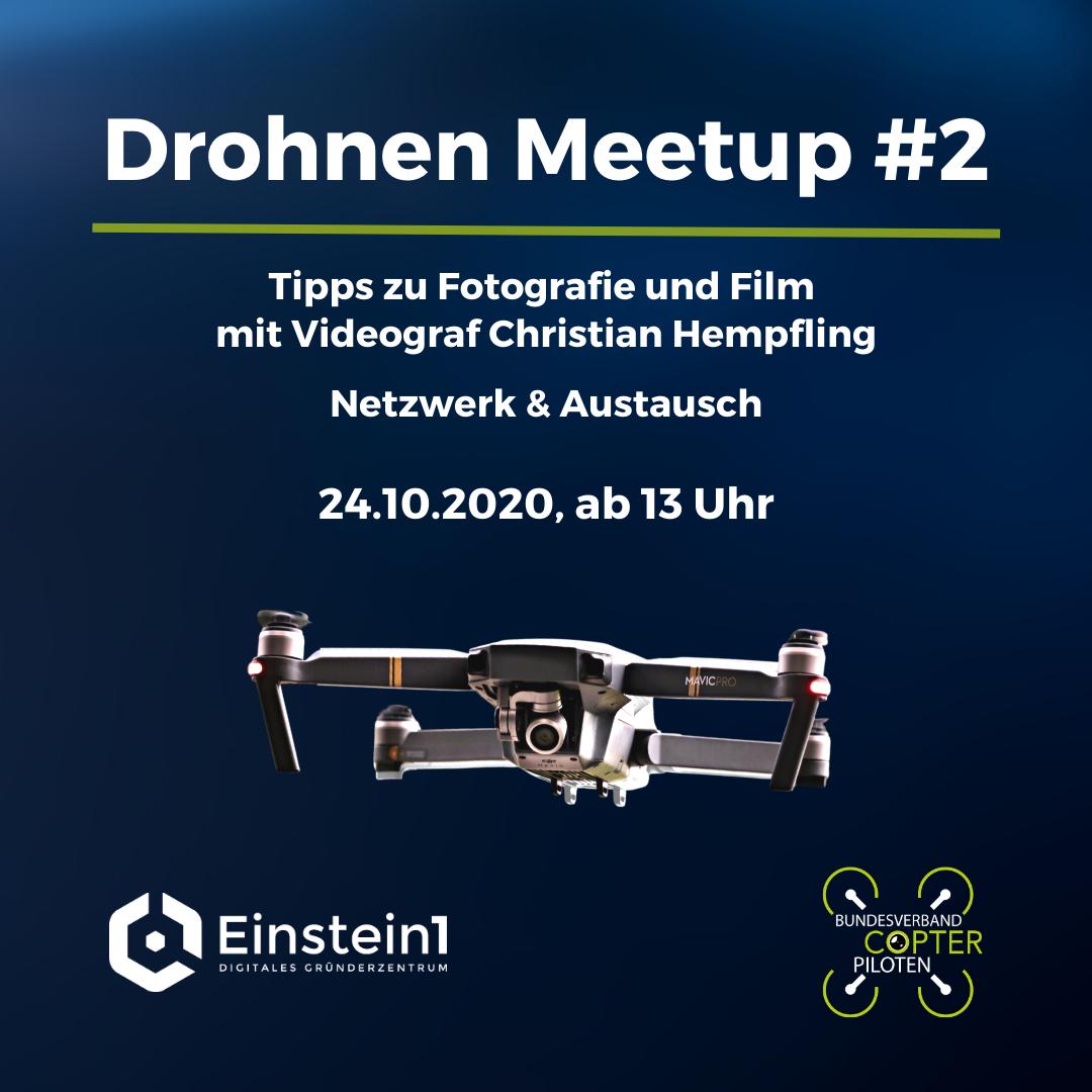 Drohnen Meetup #2 @ Einstein1