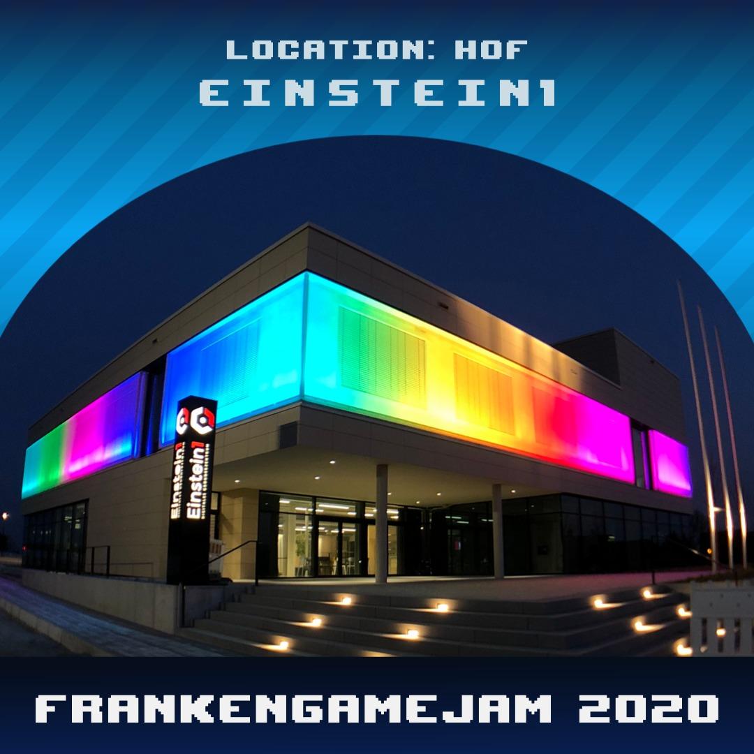 Franken Game Jam 2020 im Einstein1 in Hof