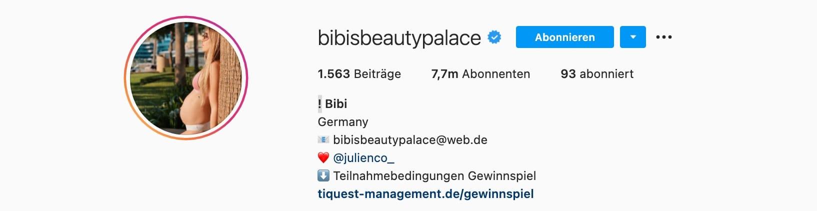 Top-7-Instagram-Influencer-Deutschland-BibisBeautyPalace-