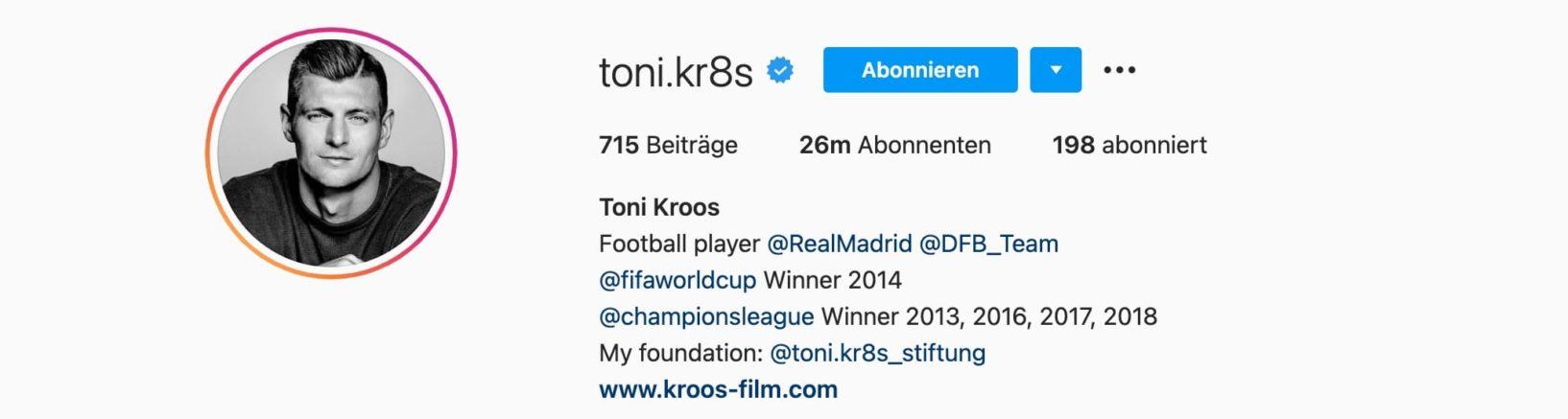 Top-7-Instagram-Influencer-Deutschland-Toni-Kroos-Einstein1