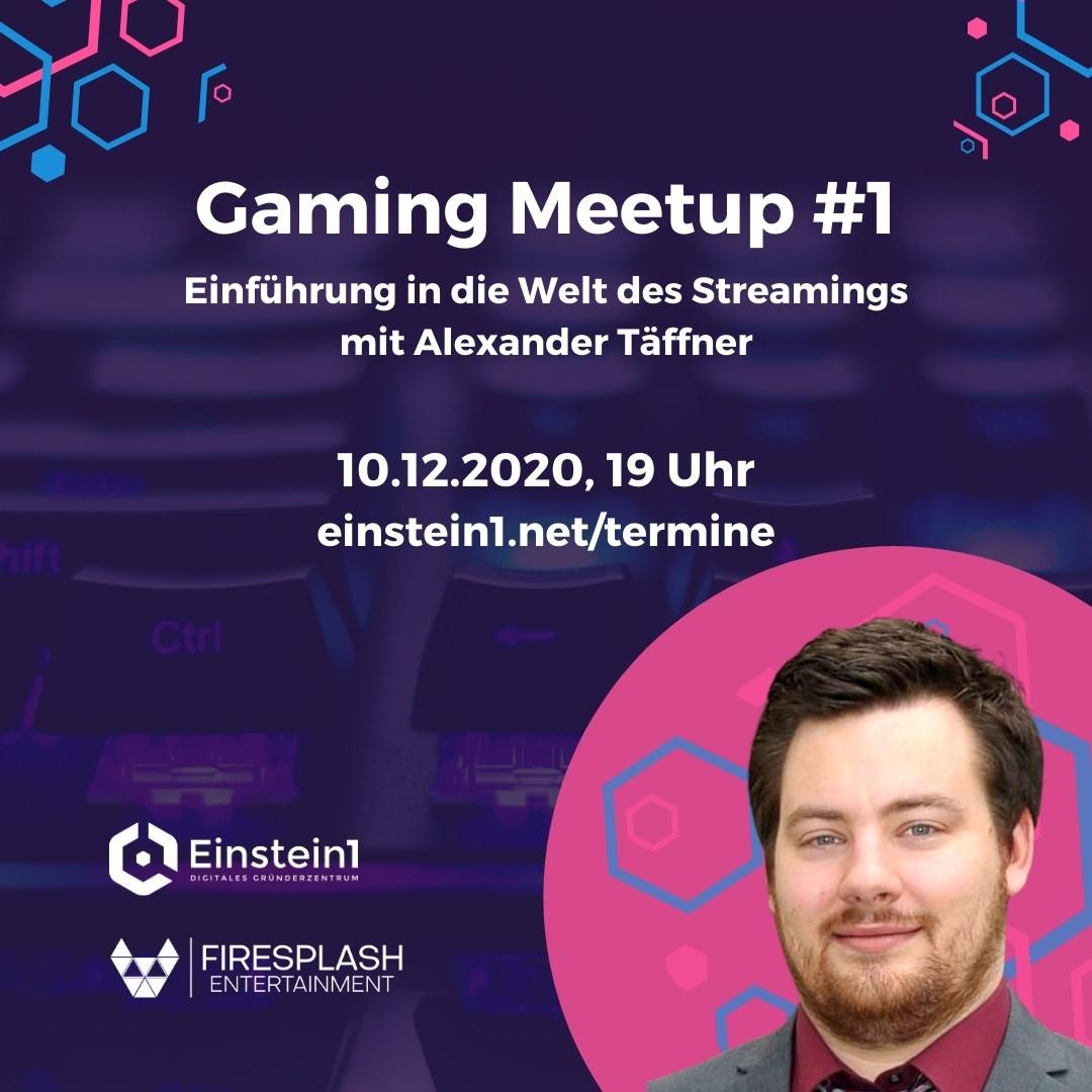 Gaming Meetup #1 mit Alexander Täffner