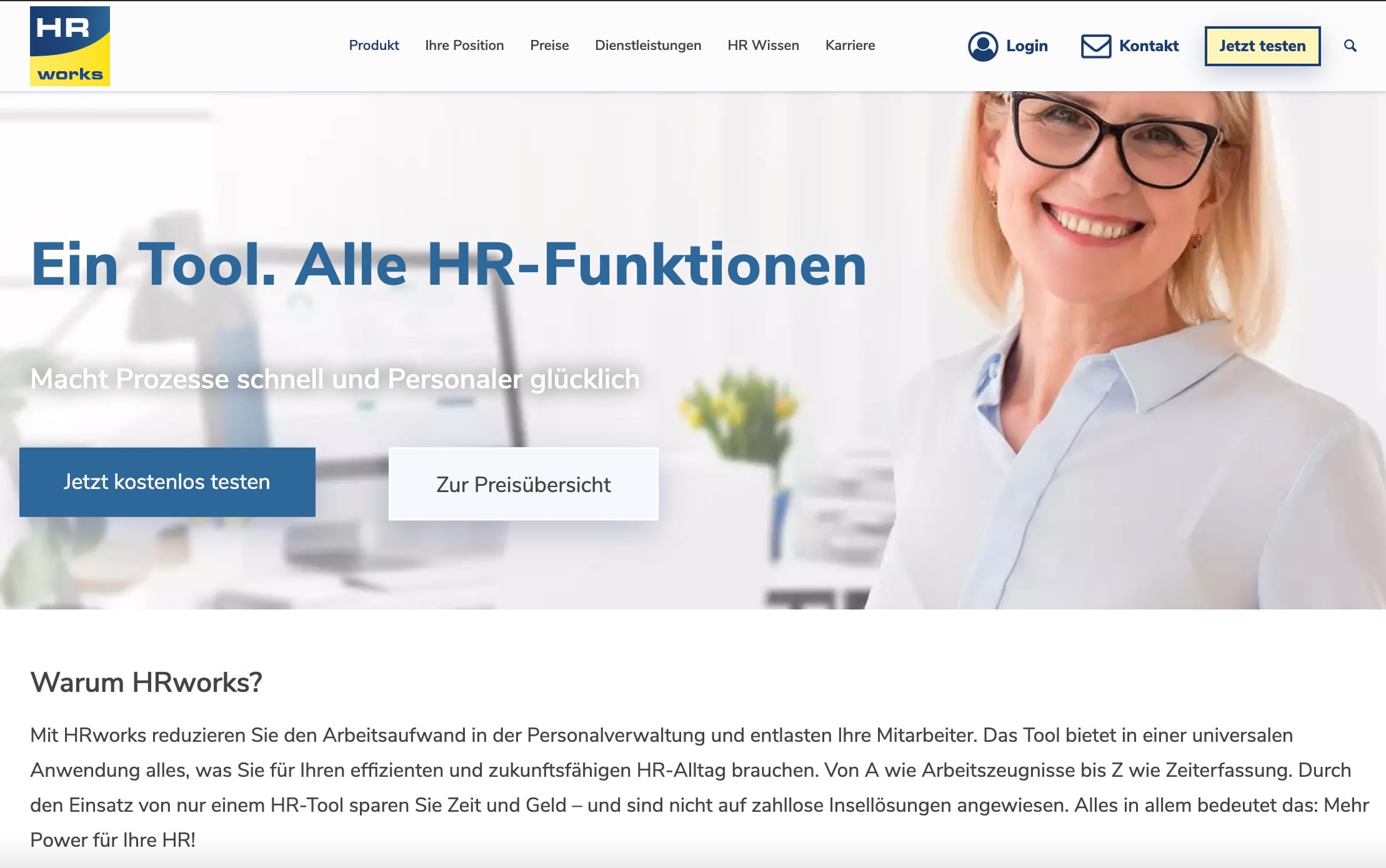 Software-as-a-Service-Hrworks