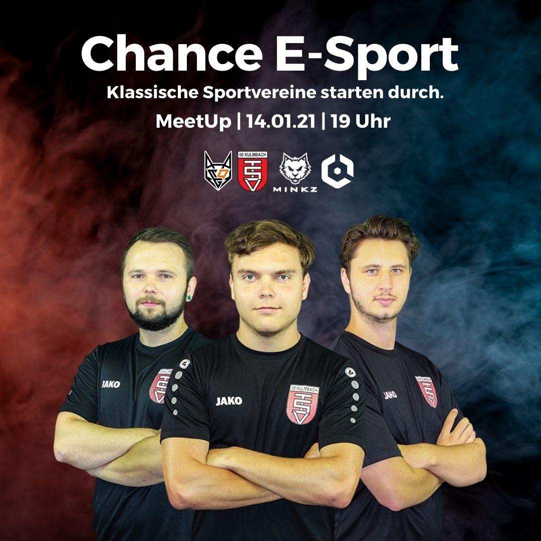 Chance E-Sport - MeetUp am 14.01.2021