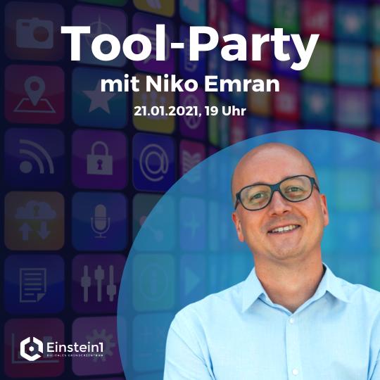 Tool-Party mit Niko Emran
