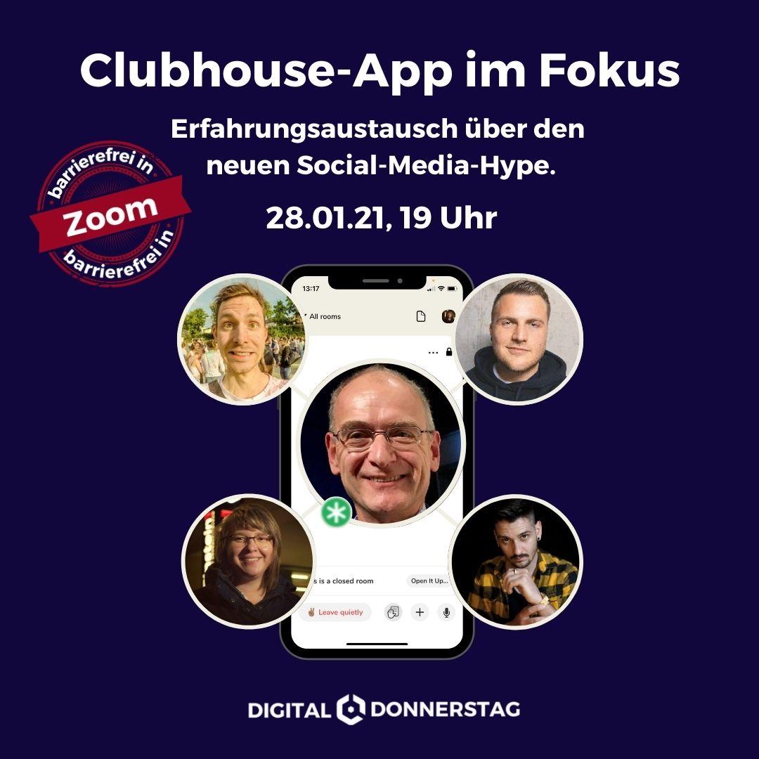 Einstein1 meets Clubhouse
