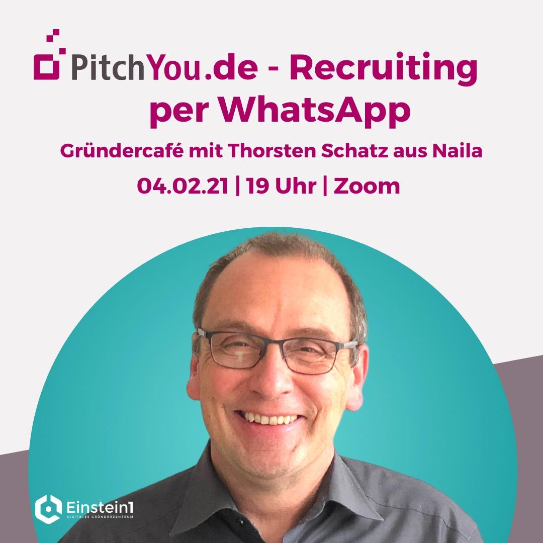 Thorsten Schatz - Gründercafé Pitchyou.de