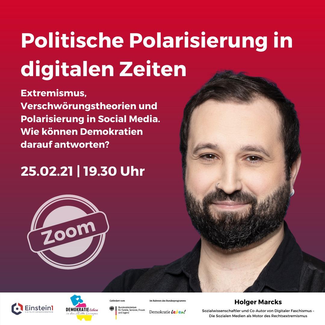 Holger Marcks: Sozialwissenschaftler und Autor