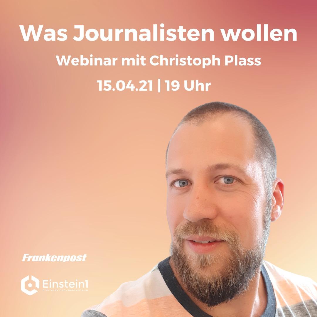 Christoph Plass - Journalist im Hofer Land