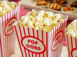 Filmabend-Popcorn